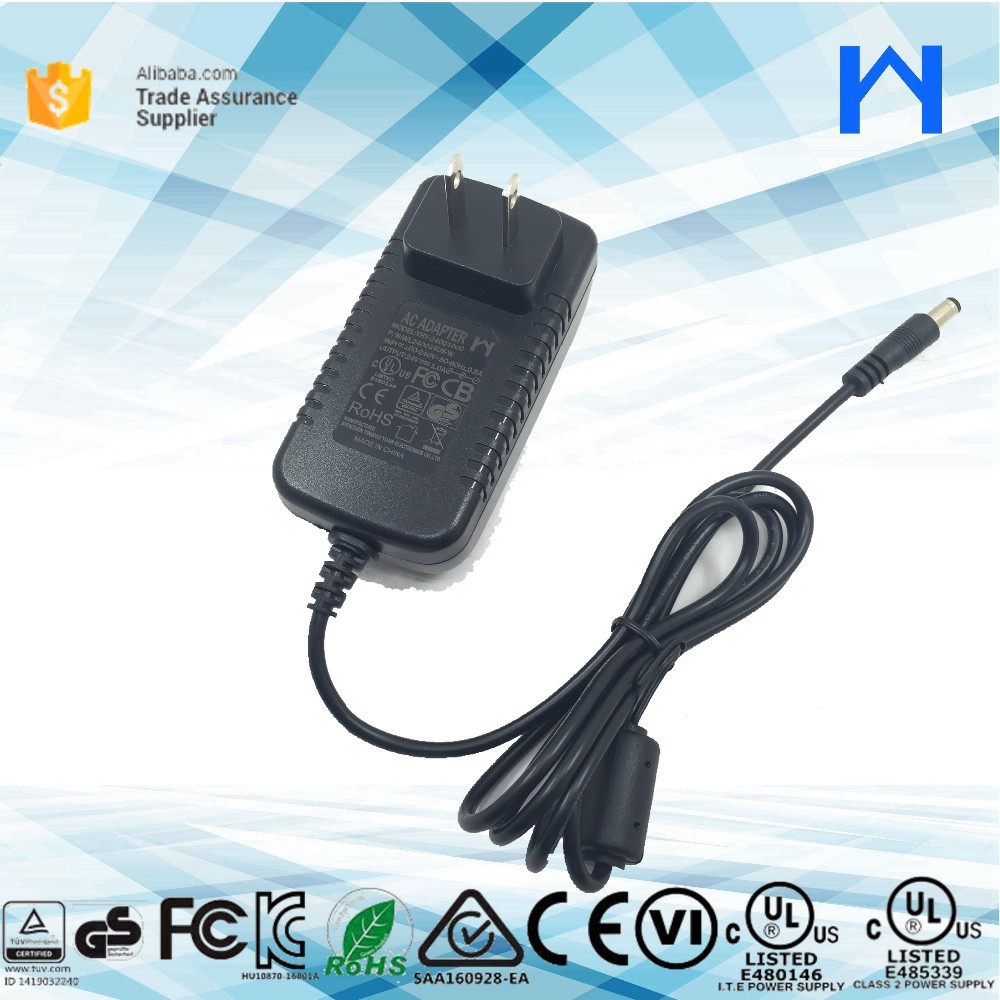 24v 20w power adaptor with UL CE KC RCM approved