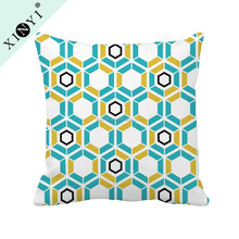 Wholesale geometric pattern washable pillow cases latest design cushion cover for office chair