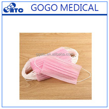 High volume disposable medical non woven custom surgical face mask with beauty