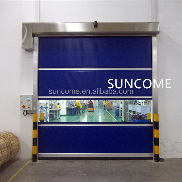 plant premium pvc/platic roll up door for interior use