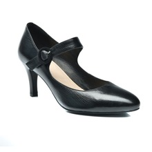 Real best quality elegance and comfortable lady lamb nappa leather high heel dress shoes for any occasion
