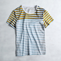 China clothing factory with competitive price OEM ODM Tee STRIPE t shirts