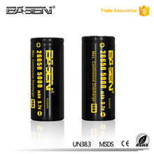 18650 3.7v lithium battery ups/5000mah battery lifepo4 a123 anr26650 for 26650 regulated box mod