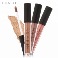 FOCALLURE New style Hot Selling Elegant Metallic Lipstick Makeup Waterproof Long Last