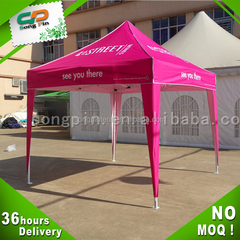 red steel entrance large outdoor canopy for event