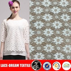 African Nylon/Spandex Stretch Net Lace Fabric