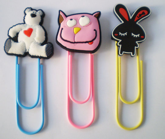 PVC magnetic colourful Mini Animal cute bookmark