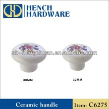 Ceramic cabinet knobs and handles