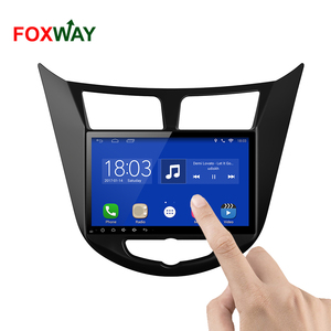 FOXWAY factory android car dvd player for Hyundai Accent with audio radio multimedia gps navigation system