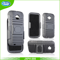 Wholesale price armor holster ultra strong combo case for Moto E3