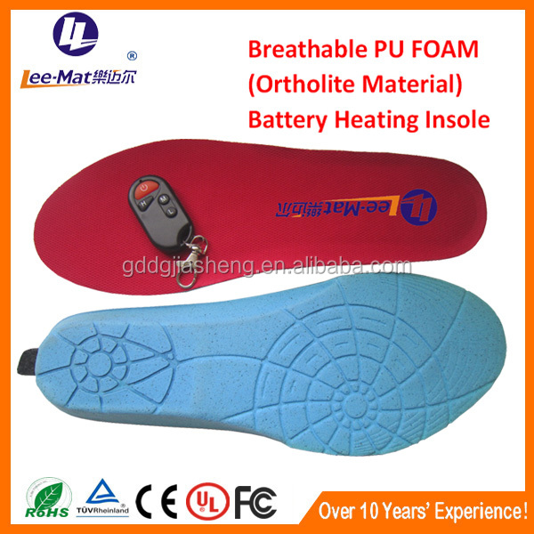 Christmas gift rechargable heating insole battery heated foot warmers