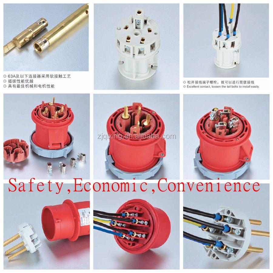 32a European Standard Iec 603092 Industrial Plug  View 32a