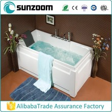 Hot sell sunzoom sex massage spa ,mini indoor bathtub ,air jet massage