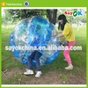 dia 1.5m human outdoor sports inflatable bumper bubble soccer ball rent