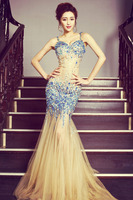 C67766A Latest Style High Quality Heavy Beaded Ball Gown Wedding Dress