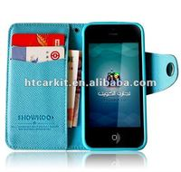 For Apple iPhone 5 Purse Leather Case wallet leather case