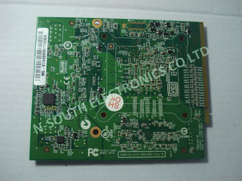 100% working for NVidia Geforce 9700MGT 9700M GT G96-750-A1 NB9E-GE DDR3 512MB MXM III graphic Card