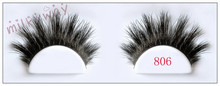 Milkyway hot sea fluffy double layered thick tapered beautiful horse hair lashes