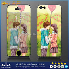 Cartoon Tempered Glass Screen Protector For iPhone 5S Glass Film