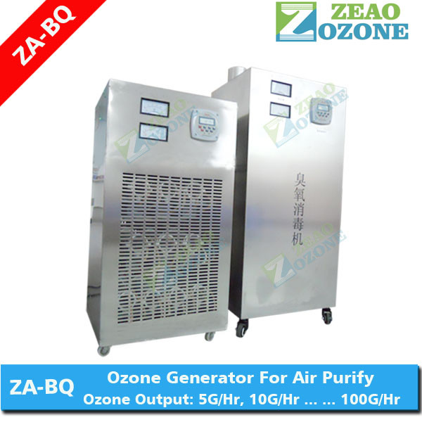 Commercial kitchen use ozone generator with ceramic ozone plate for food street