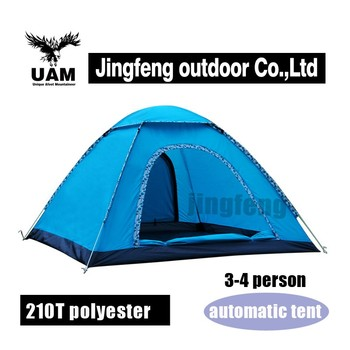 big waterproof automatic tent 3 person pop up beach tensile tent