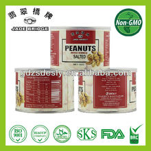 NON-GMO 150g Salted Peanuts in Tin can