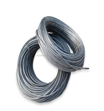 AISI304 7X19 stainless steel wire rope 4mm 6mm 8mm 10mm