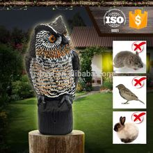 eco-friendly plastic bird solar electronic snake repellent