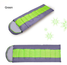 Double person lightweight adult outdoor camping sleeping bag