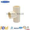 plastic Pipe Fitting ASTM 2846 Standard for Irrigation CPVC Straight Tee