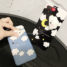 2017 Trending product squishy TPU 3D animal silicone cell funky mobile phone accessories case for iPhone 7