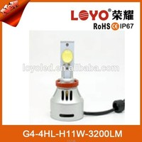 High Power 3200lm Auto /Motocycle LED Headlight light H4 H7 H8 H11 9005 9006