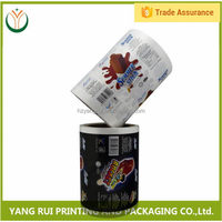 Factory Colorful flexible printing and lamination package,plastic printed film roll,plastic rigid pvc film roll