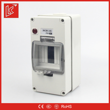 Low price FSCBN series plastic distribution box IP66 1gang/2gang/3gang/4P/4gang/6gang/8gang surface mount enclosure