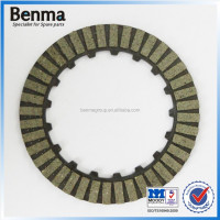 china parts manufacturer sale scooter /motorcycle Clutch plate friction