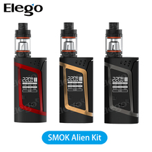2016 Wholesale SMOK 220W Alien Kit With 3ml TFV8 Baby Tank Vape Elego stock offer