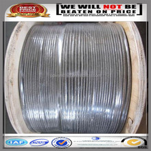 electrical wire pvc cover/pvc coated steel wire/pvc coated galvanized steel wire rope