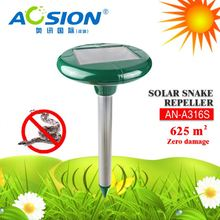 Aosion Solar powered sonic + vibrate 625 sq.m protection soud wave snake repeller