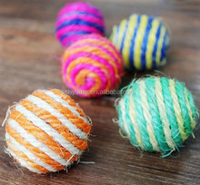Sisal Ball Toys for Cats Colorful Pet Toys