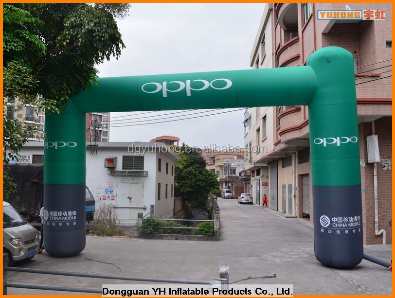 hot sale custom sewed inflatable entrance arch for promotion