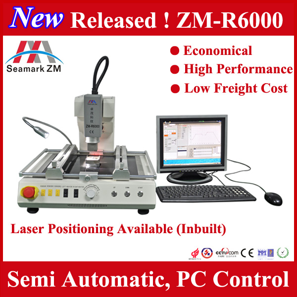laptop computer repair equipment zm-r6000 bga soldering station for mobile phone
