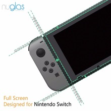 Nuglas 9H milo tempered glass screen protector for Nintendo Switch, new arrival best selling