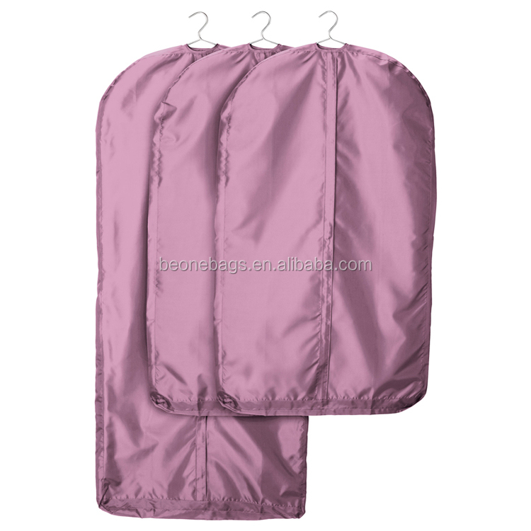 High Quality Suit Bag Luxury Satin Suit Bag Customized