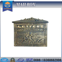 2017 YOOBOX best professional High qualitymetal mailbox the mailboxes for sale