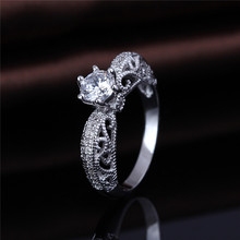 Latest Unique Beautiful Pictures of Eternity CZ Wedding ring For Lover