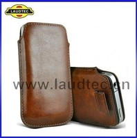 Normal Leather Pull Tab Pouch Sleeve Cover for Moto G