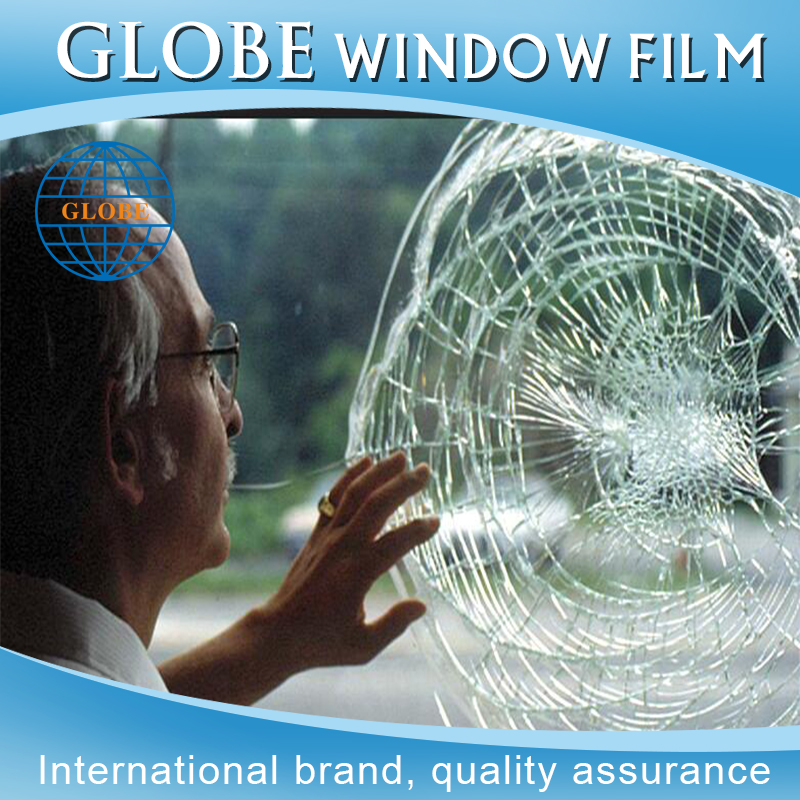 1.52*30m 2mil, 4mil, 8mil, 12mil durable safety paint protection film for wall