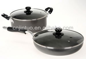 as seen on tv Aluminum caremicceramic pot