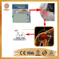 Capsicum plasters for relieving muscle pain effectively ease shoulder pain patch