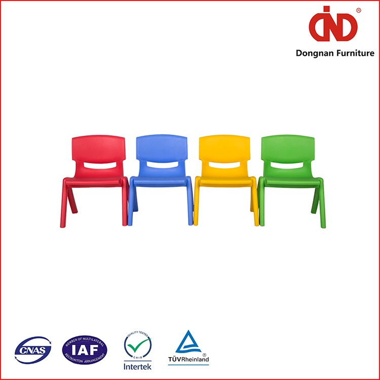 100% Test China factory Colourful kd kid chair